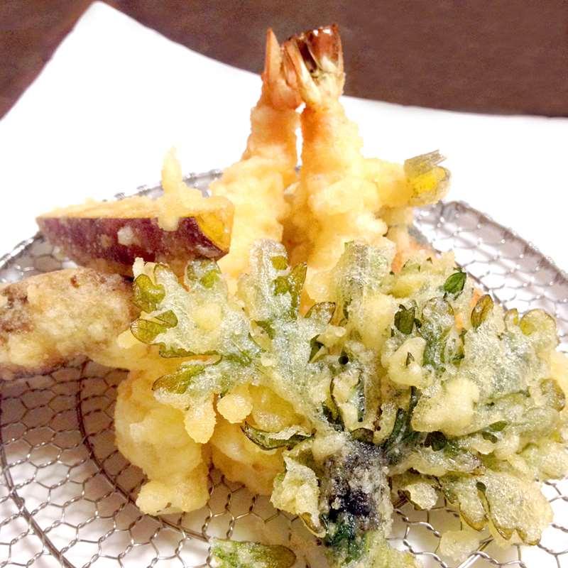 天ぷらをおいしくサクサクにするコツ
