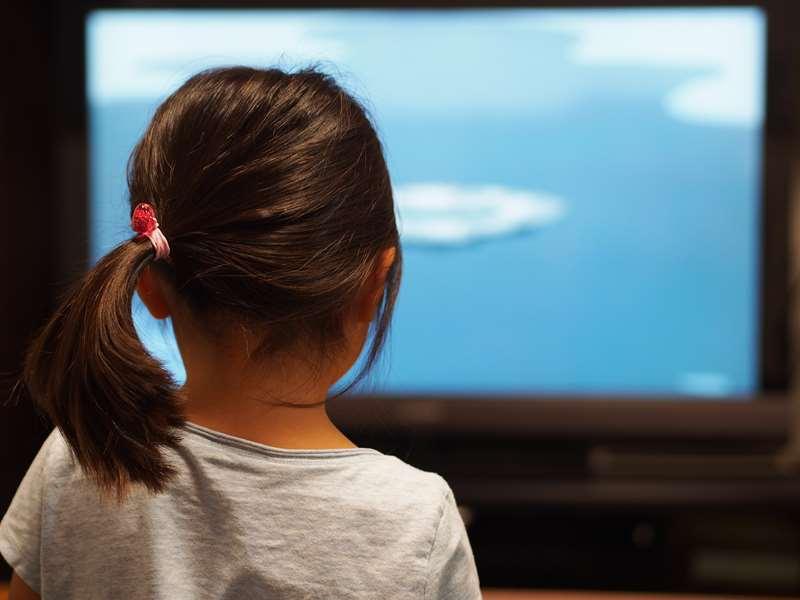 子どものテレビの平均視聴時間