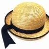 幼稚園の麦わら帽子