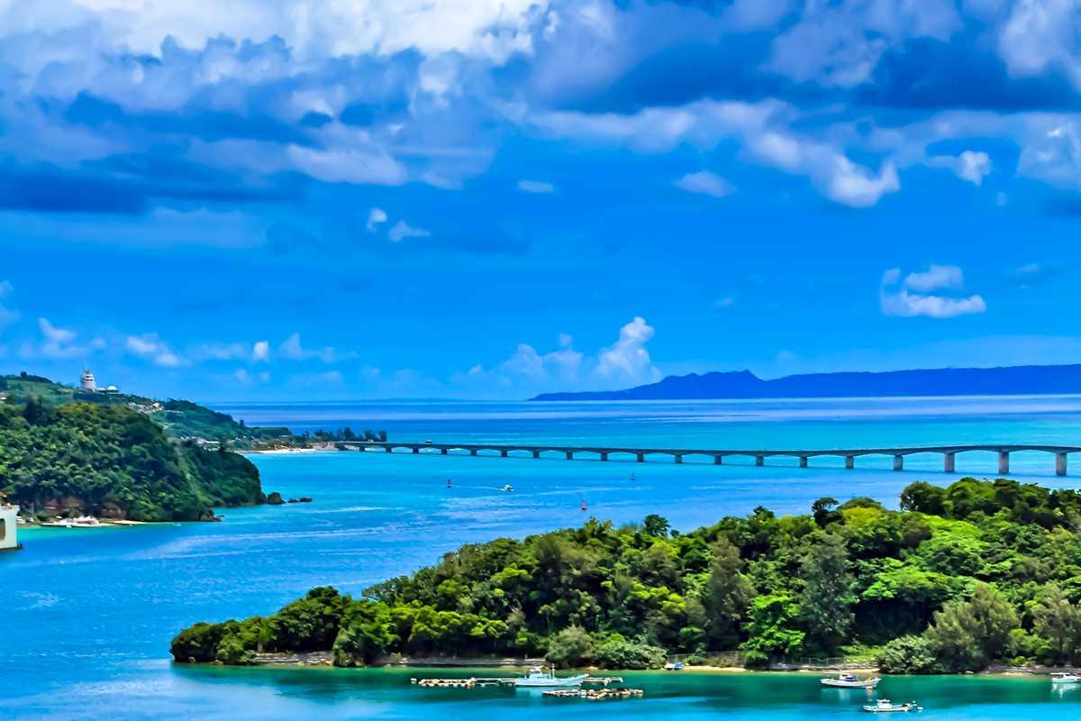 沖縄の古宇利島